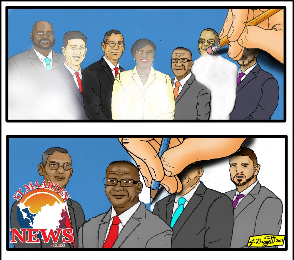 COM Council of Ministers Cartoon And Then There Were 4