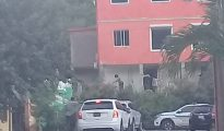 Justice Vehicles at MP Christophe Emanuel home - 20191022