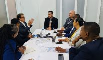 Port SXM Meeting with RCL