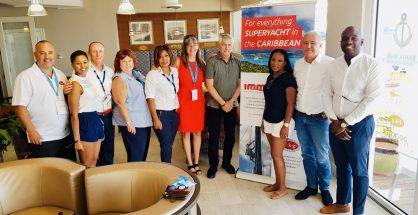 Port SXM and Marine Sector Reps at FLIBS