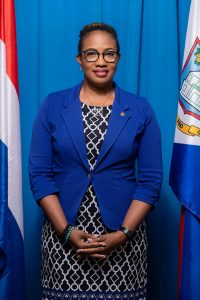 Prime Minister Silveria Jacobs