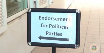 Sign Endorsement Political Parties