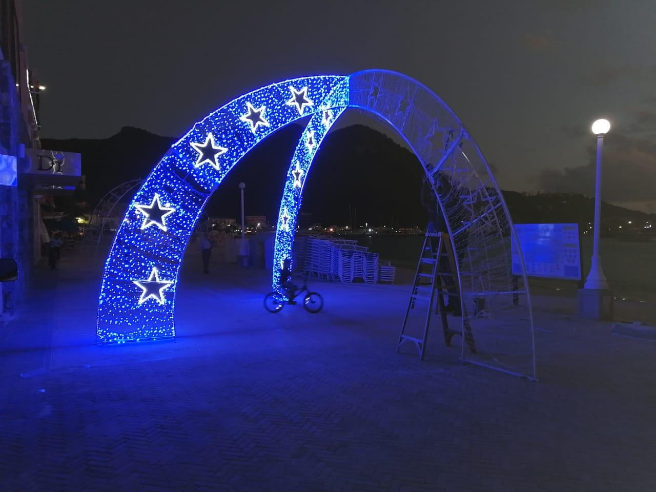 Boardwalk Christmas Lights