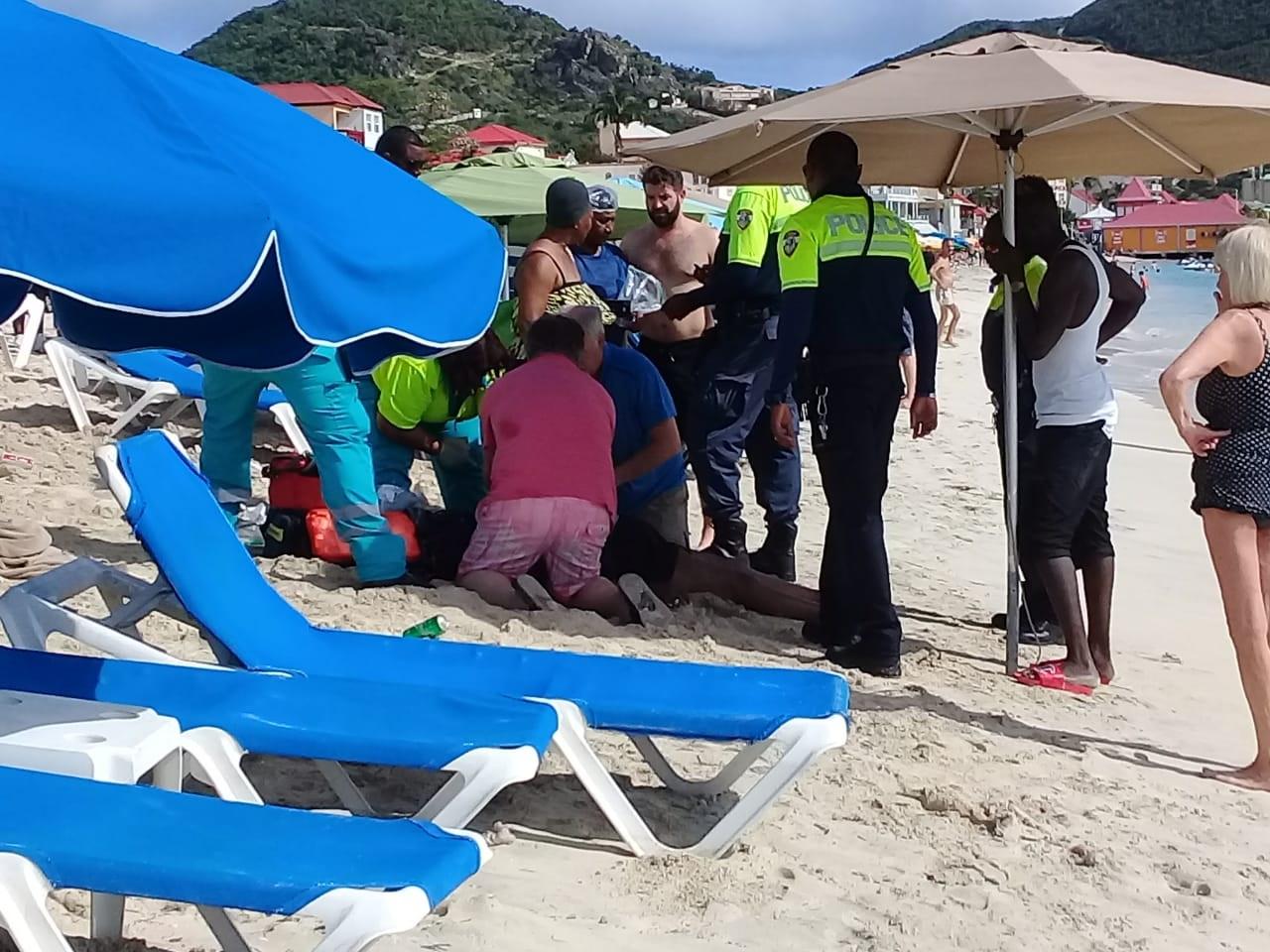 Cruise tourist suffers heart attack 1