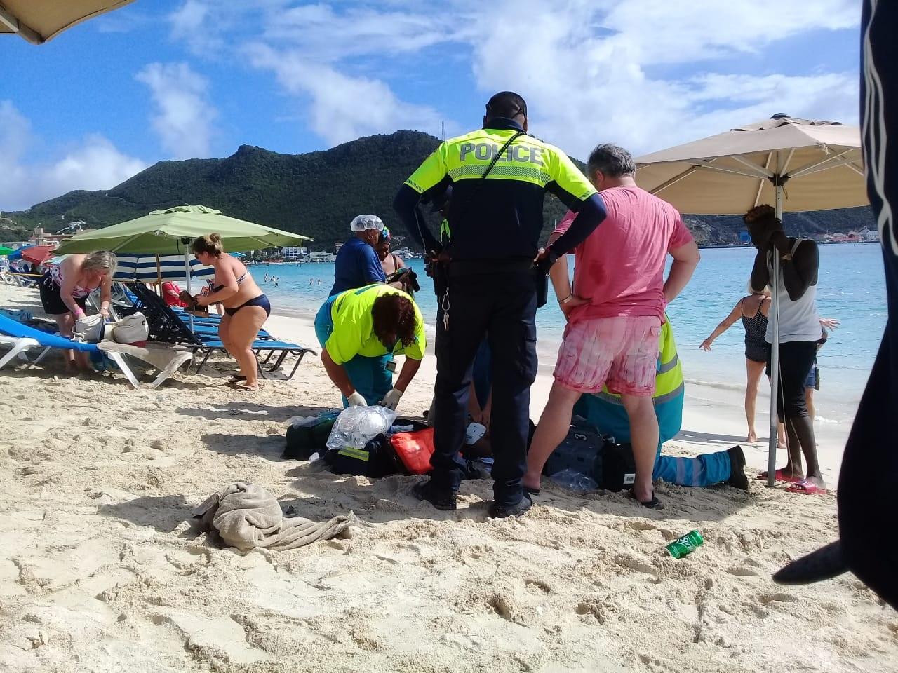 Cruise tourist suffers heart attack 2