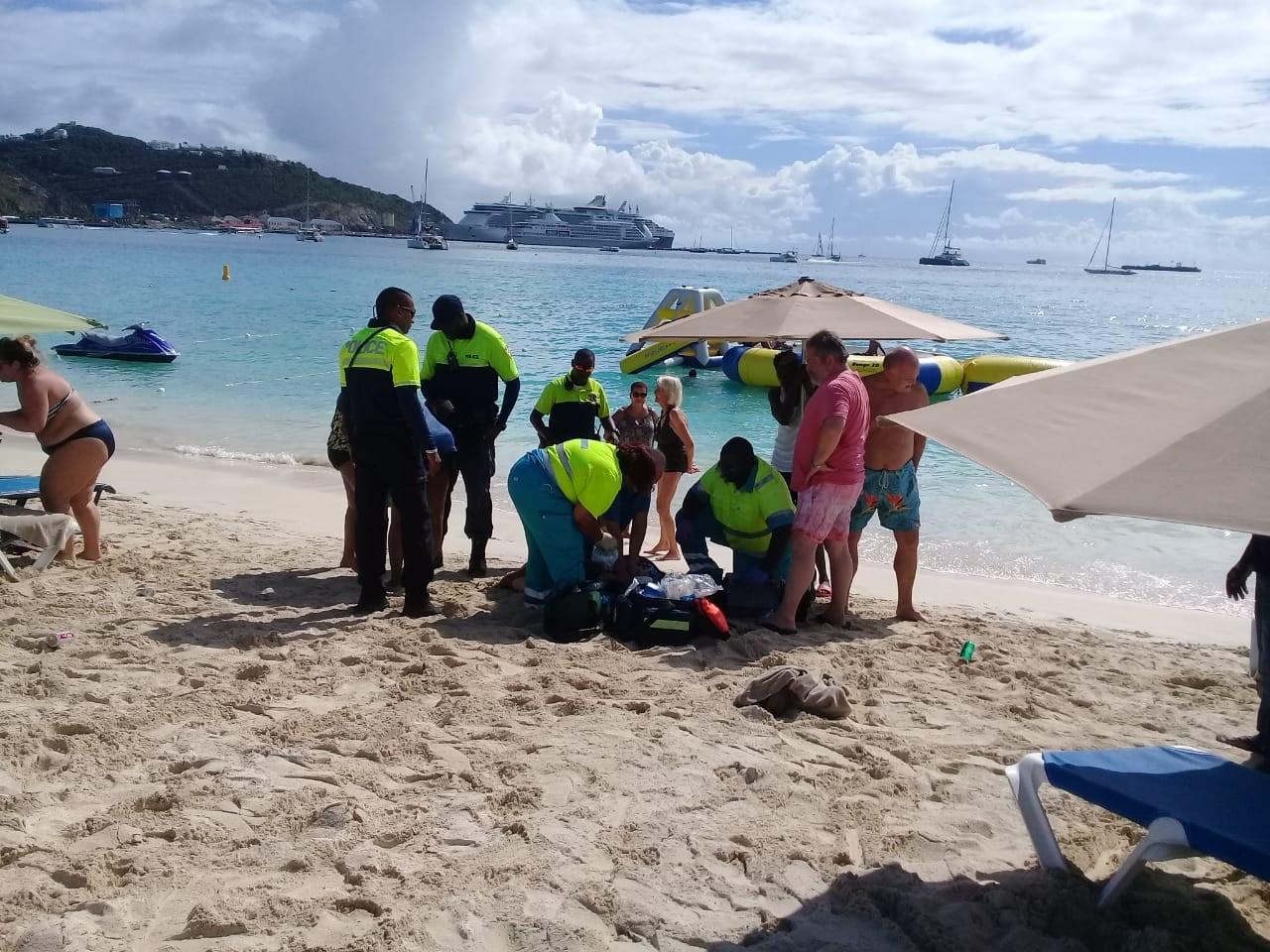Cruise tourist suffers heart attack 4