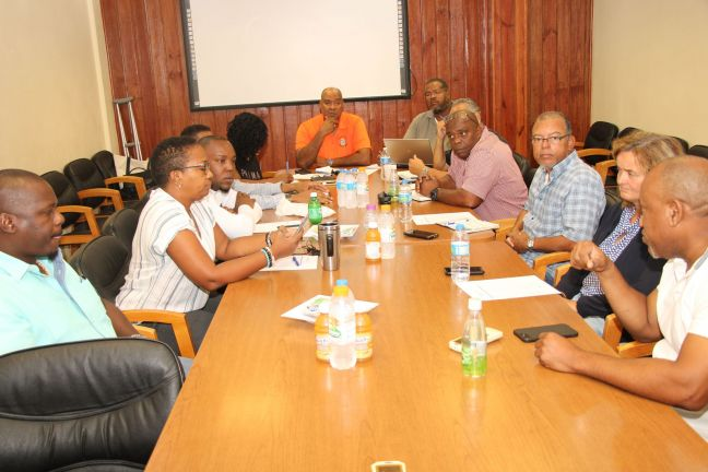 PM Silveria Jacobs meeting Justice authorities