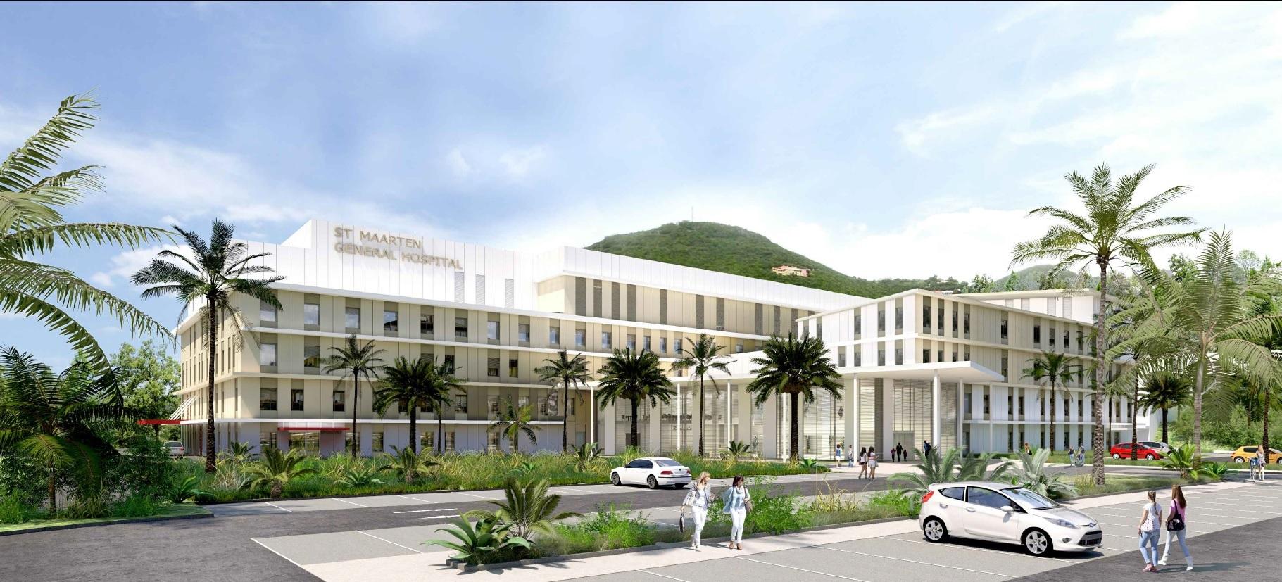 StMaarten General Hospital front-facade-large Dec2019