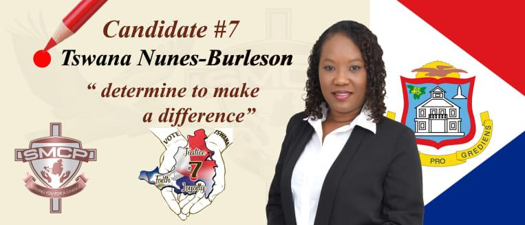 Tswana Nunes-Burleson banner
