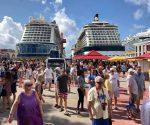 Disembarking Cruise Pax
