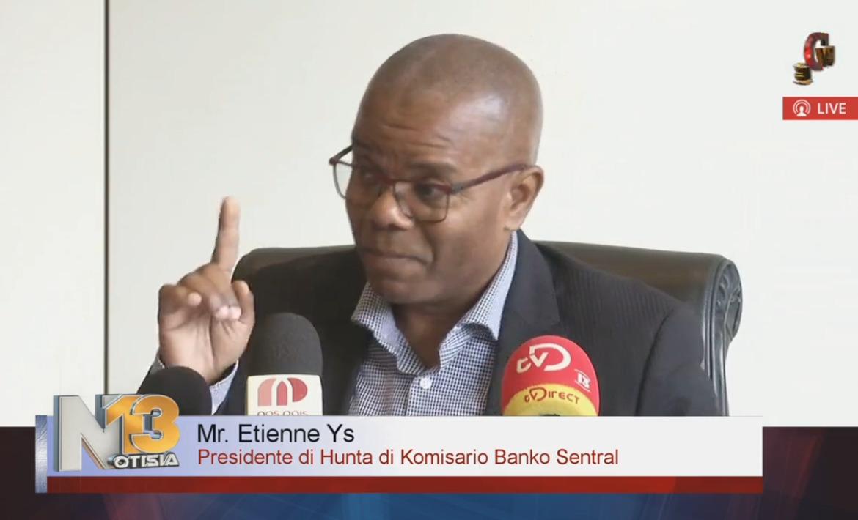 Ettienne Ys- President Commisaris Girobank
