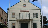 Courthouse in Philipsburg - 20200220 JH