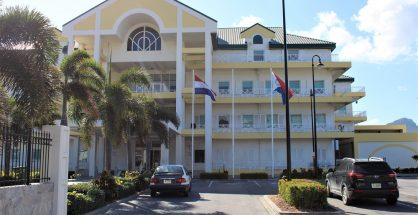 Government Administration Building with Flags- 20200220 JH
