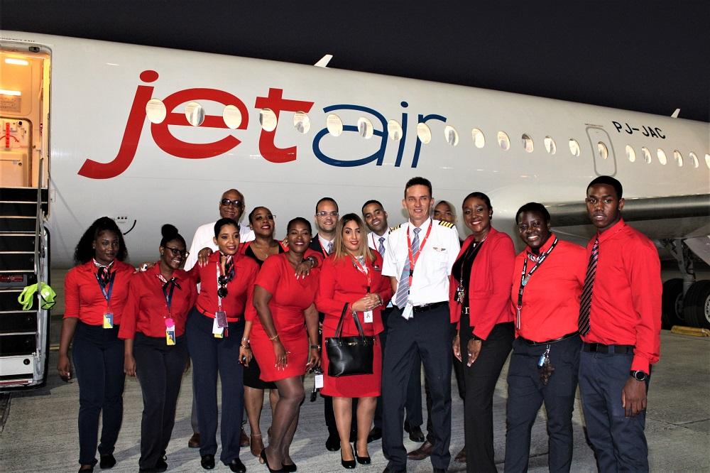 Jetair Juliana Airport Handlers JAH team - 02022020 JH
