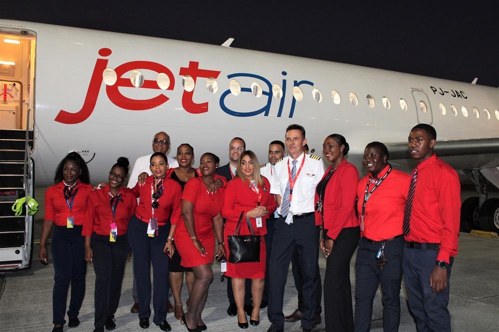 Jetair Juliana Airport Handlers team - 02022020 JH