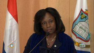 Labor Minister Pamela Gordon-Carty