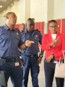 PM Jacobs inspects Fire Department - Dec 2019