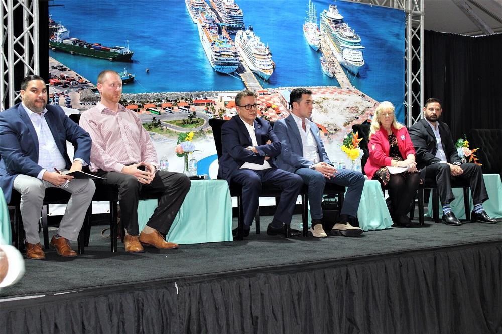 Panel Townhall Meeting Cruise Port St. Maarten - 20200502 JH