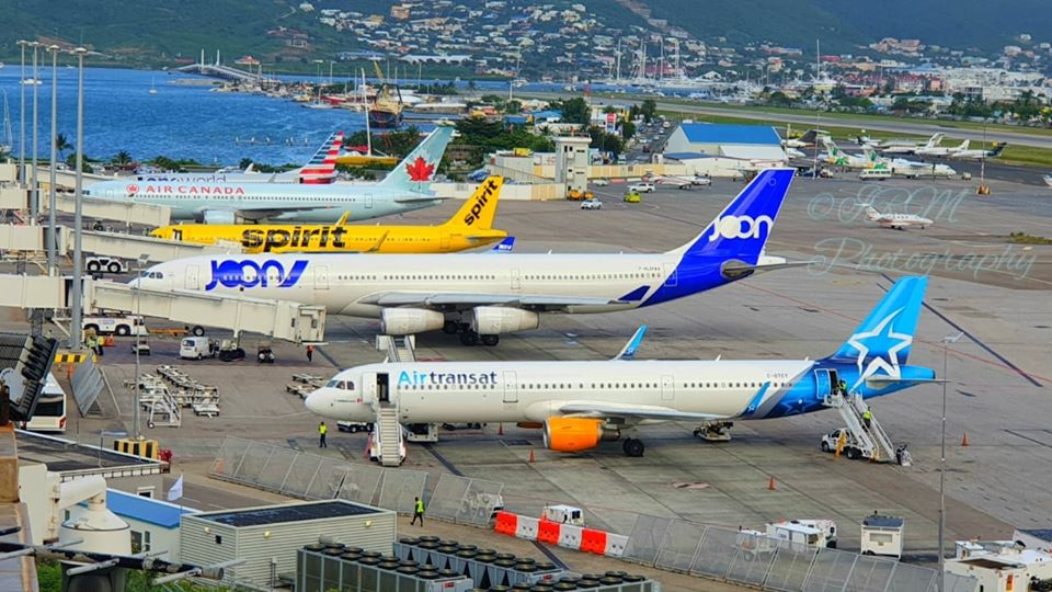 SXM Airport continues to be busy - 20200217