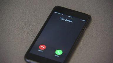 no caller phone