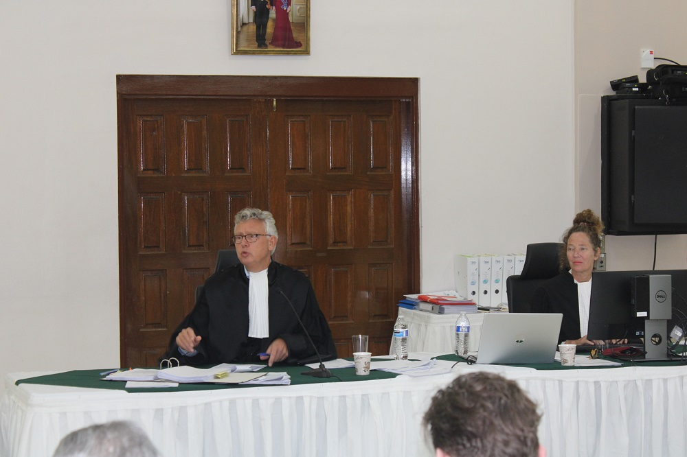 Judge and Court Recorder Larimar Case - 20200310 JH