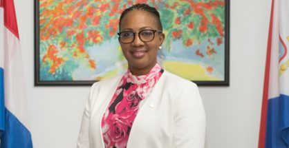 Minister Silveria Jacobs