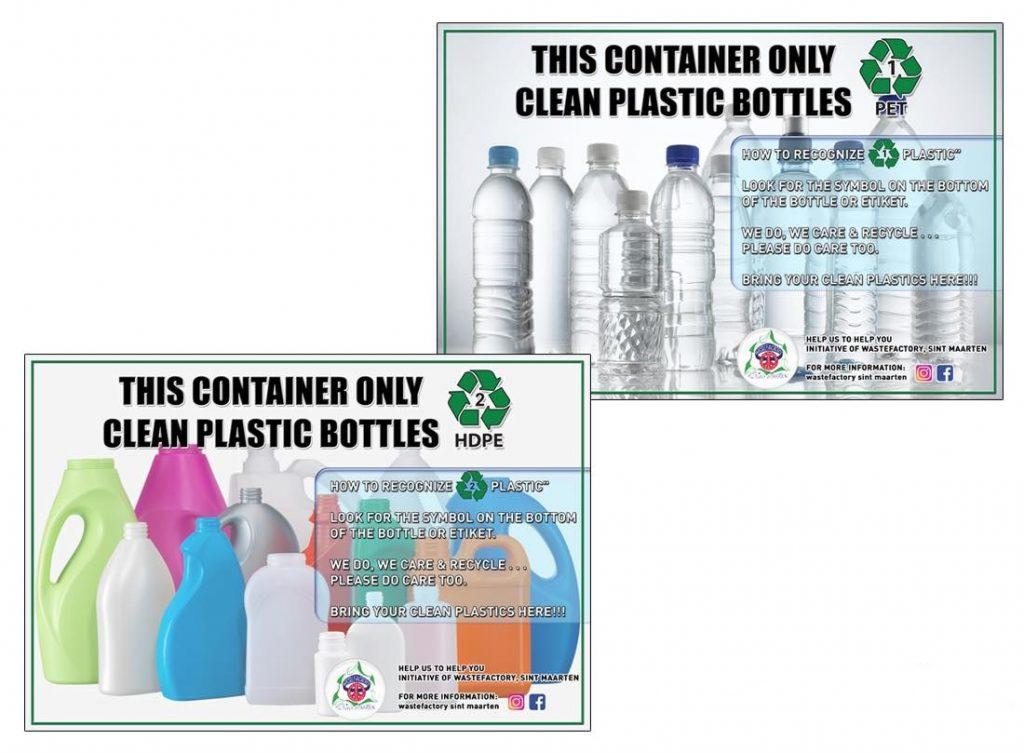 PET & HDPE plastic bottles