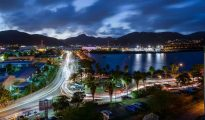 Philipsburg at Night - Photo provided by LNWAD