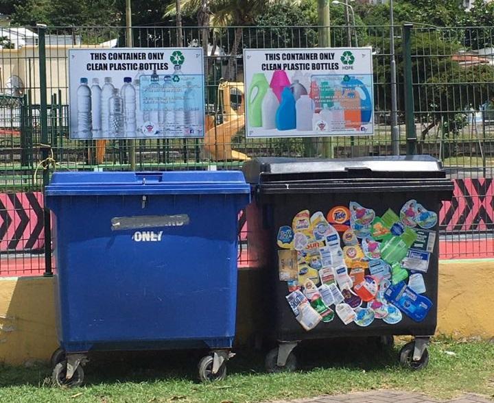 Recycling bins 4