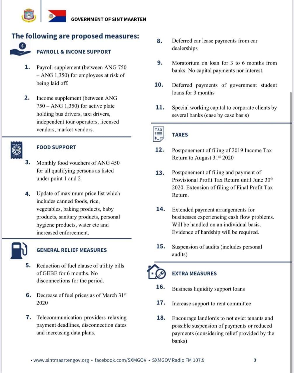 Stimulus Plan Infographic