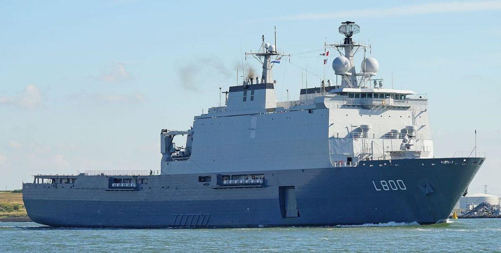Dutch amphibious warfare ship