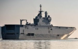 French Navy Support Ship