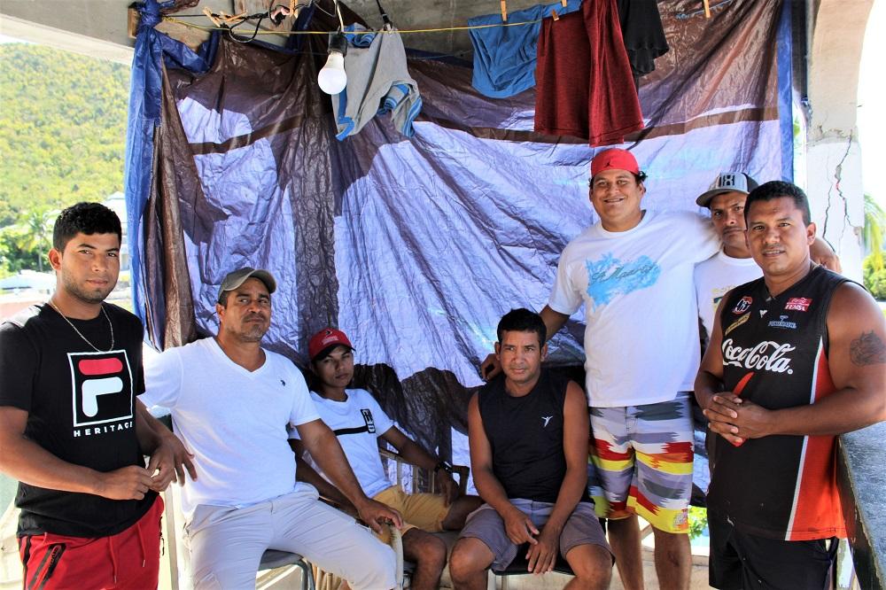 Group of Venezuelan Men Stranded in St. Maarten - 2020042301 JH