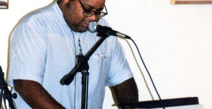 Louis Duzanson book launch party 2000 HNP photo