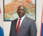 Minister of Education Rodolphe Samuel