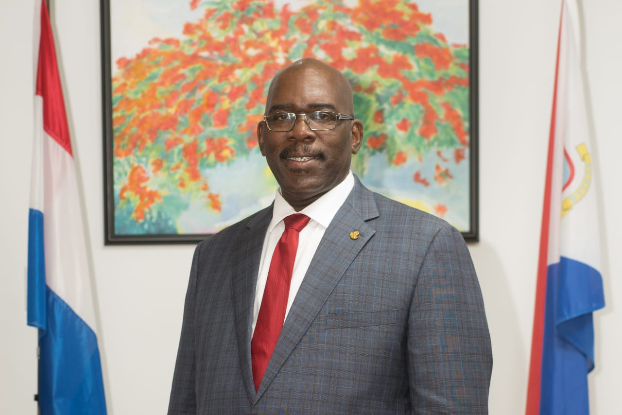 Minister of Education Rodolphe Samuel