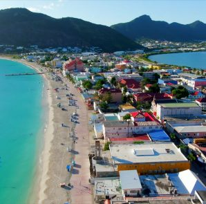 Philipsburg Aerial Photo by Aarti Baran