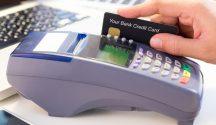 Bank Credit Card swipe