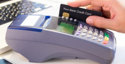 Bank Credit Card swipe