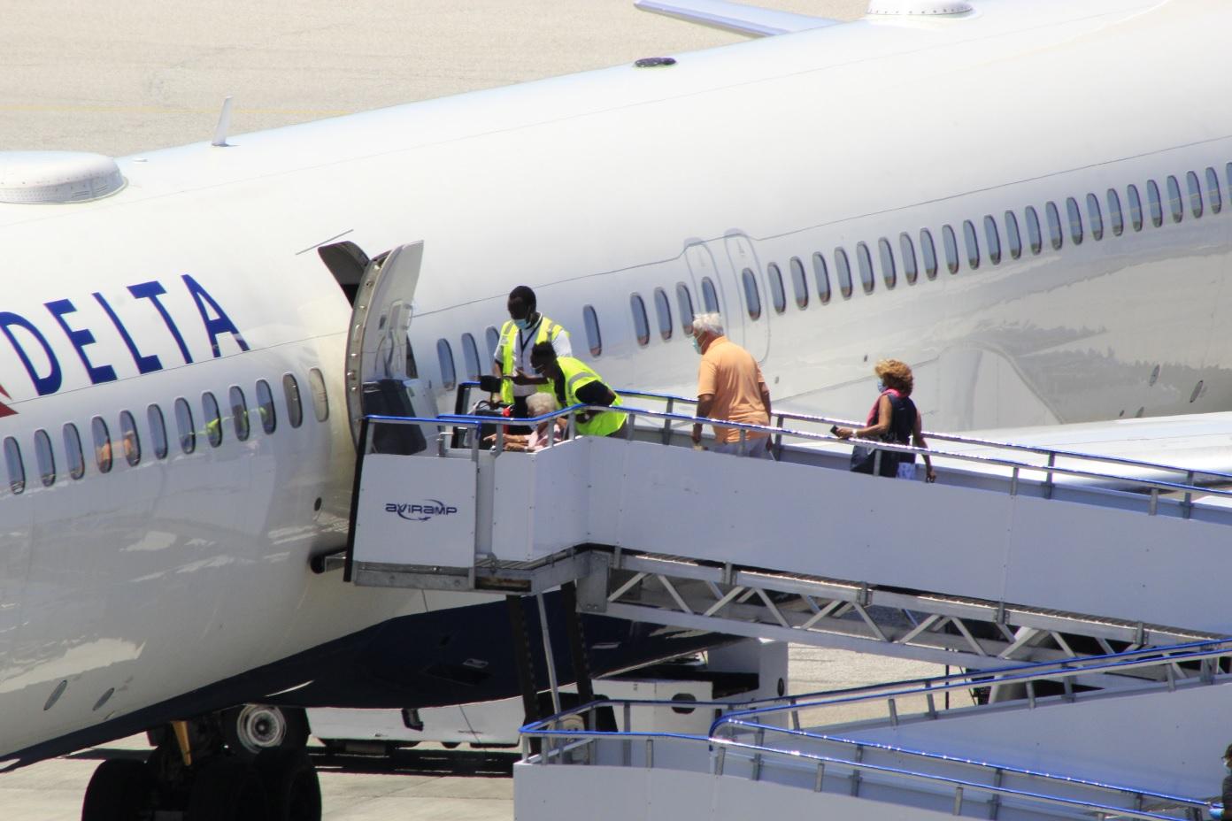 Delta Airlines Repatriation Flight Pax Boarding 14 May 2020