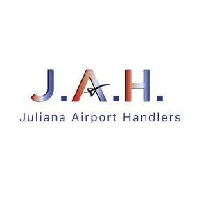 Juliana Airport Handlers JAH logo