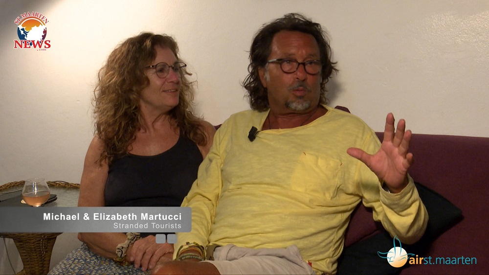 Michael & Elizabeth Martucci - Stranded Tourists on SXM during lockdown