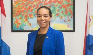 Minister Ludmilla De Weever press photo