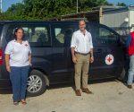 Red Cross officials St. Maarten