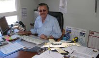 Bruno Magras in his SBC office