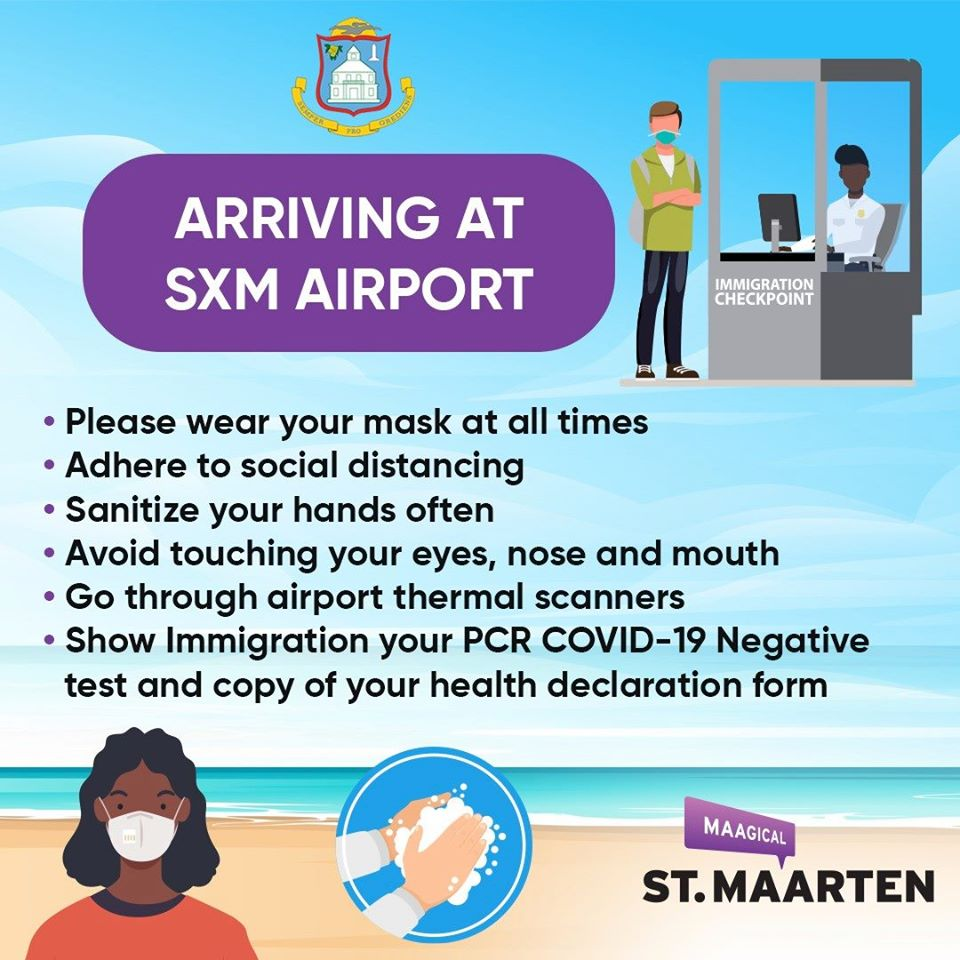 Entry Requirements - Arrival at SXM Airport