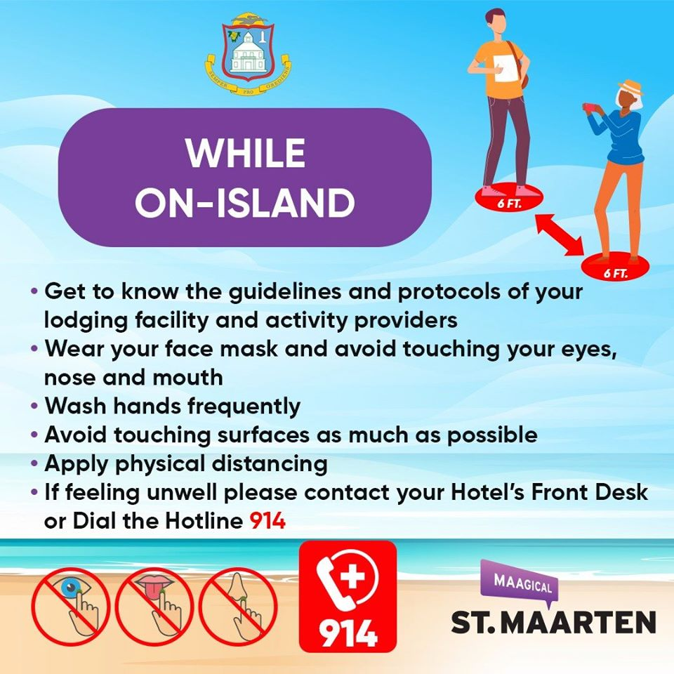 Entry Requirements - While On-Island