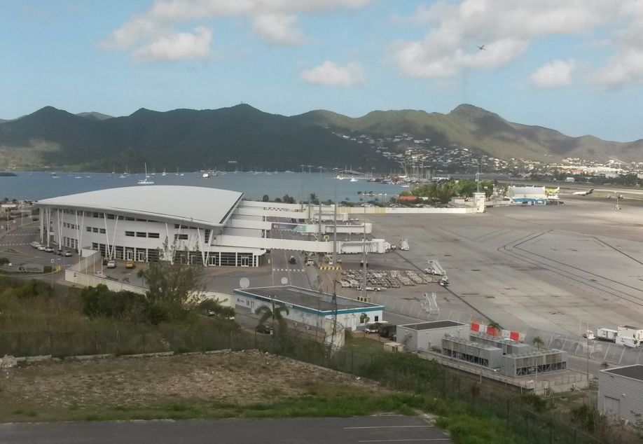 SXM PJIA Airport empty - Soauliganewsday photo