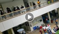 Video protest action at SMMC