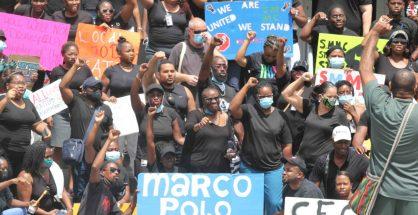 WIHCUA SMMC protesters